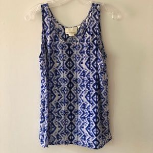 Cynthia Rowley 100% Silk Tank Top Small